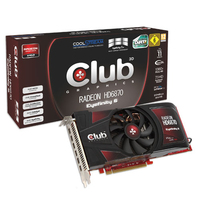 CLUB3D CGAX-68748M6 Radeon HD6870 2GB GDDR5 scheda video