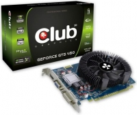CLUB3D CGNX-TS45024ZCI GeForce GTS 450 1GB GDDR3 scheda video