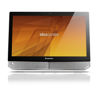 "Lenovo IdeaCentre B520 3.4GHz i7-2600 23"" 1920 x 1080Pixel Touch screen Nero, Argento"