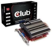 CLUB3D CGAX-H65724ZI Radeon HD6570 1GB GDDR3 scheda video