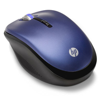 HP 2.4GHz Wireless Optical RF Wireless Ottico Ambidestro mouse