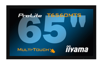 "iiyama T6560MTS 65"" 1920 x 1080Pixel Multi utente Nero monitor touch screen"