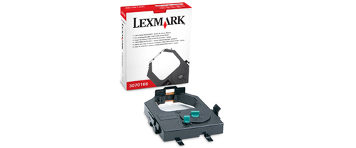 Lexmark 3070166 printer ribbon Black