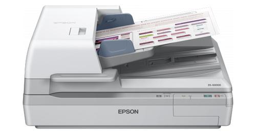 Epson WorkForce DS-60000 Flatbed scanner 600 x 600DPI A3 White