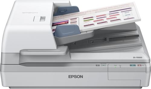 Epson WorkForce DS-70000 Flatbed scanner 600 x 600DPI A3 White