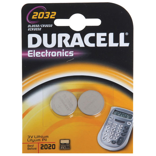 Duracell DL2032B2 Lithium 3V non-rechargeable battery