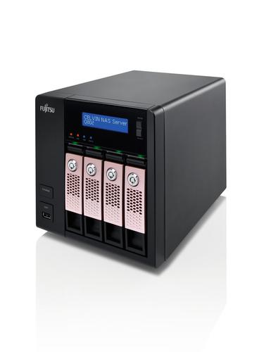 Fujitsu CELVIN NAS Q802 Tower Ethernet LAN Black