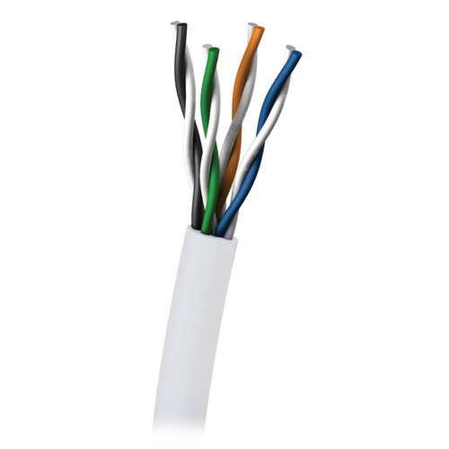 C2G Cat5E 350MHz UTP Solid PVC CMR Cable 305m 305m Cat5e U/UTP (UTP) White networking cable