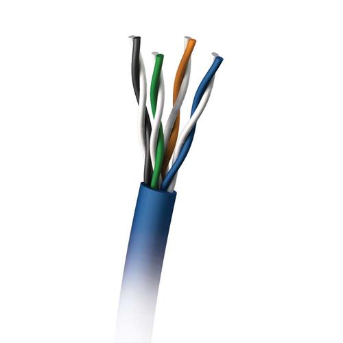 C2G 305M Cat5E 350MHz UTP Solid PVC CMR Cable networking cable U/UTP (UTP) Blue