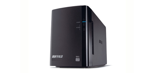 Buffalo DriveStation Duo USB 3.0 Storage server Desktop Black