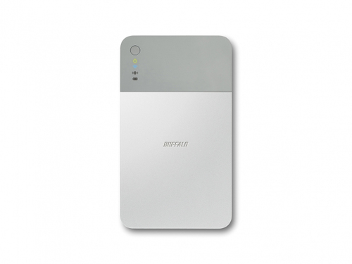 Buffalo 1TB MiniStation Air Wi-Fi 1000GB Grey,Silver external hard drive