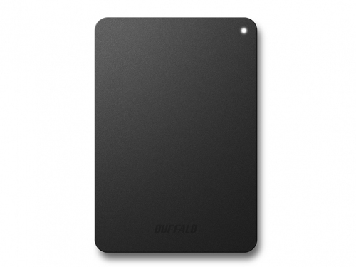 Buffalo Ministation Safe, 2TB 2000GB Black external hard drive