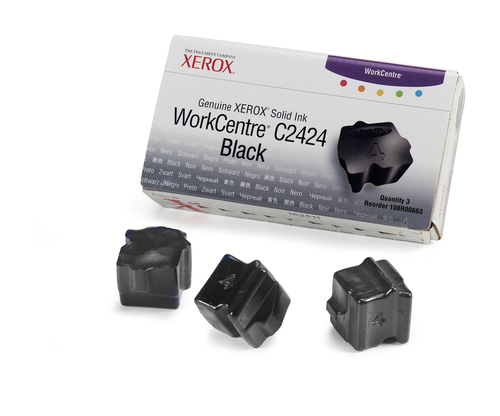 Xerox 108R00663 Black 3400pages 3pc(s) ink stick