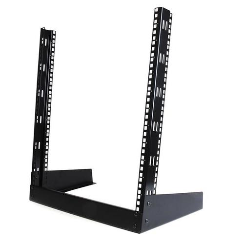 """StarTech.com 12 HE 19"""" Desktop 2 Pfosten Open Frame Rack - 50 kg Maximale Gewichtskapazität"""