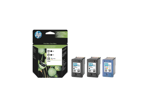 HP 21/21/22 Black,Cyan,Magenta,Yellow ink cartridge