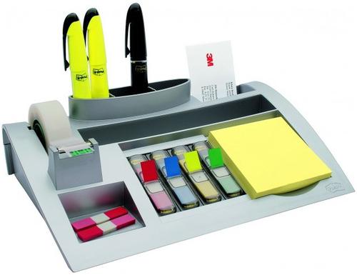 3M C50 Silver desk drawer organizer