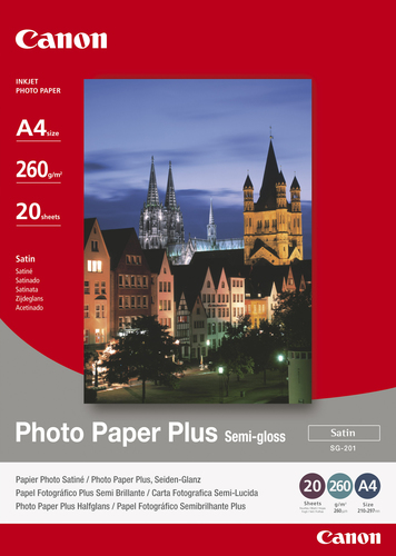 Canon SG-201 A4 Satin photo paper