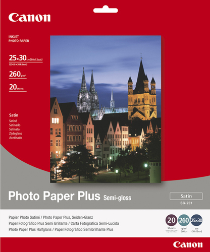 Canon SG-201 Photo Paper Plus - 10x12 photo paper