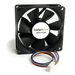 80X25MM COMPUTER CASE FAN WITH CPNT - 80X25MM PWM ROD EVER LUBRICATE   UK