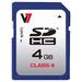 V7 SD CARD 4GB SDHC CL4        MEM - RETAIL                           IN