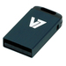 V7 USB NANO STICK 4GB BLACK    MEM - USB2.0 23X12X4MM RETAIL          IN