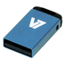 V7 USB NANO STICK 4GB BLUE     MEM - USB2.0 23X12X4MM RETAIL          IN