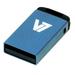 V7 USB NANO STICK 8GB BLUE     MEM - USB2.0 23X12X4MM RETAIL          IN