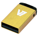 V7 USB NANO STICK 4GB YELLOW   MEM - USB2.0 23X12X4MM RETAIL