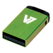 V7 USB NANO STICK 8GB GREEN    MEM - USB2.0 23X12X4MM RETAIL